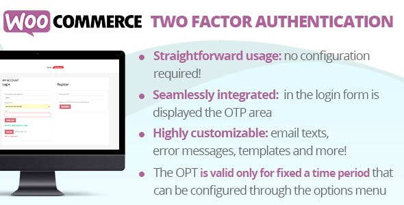 WooCommerce Two Factor Authentication
