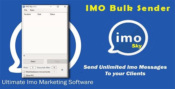 IMO Sender Software v1.3