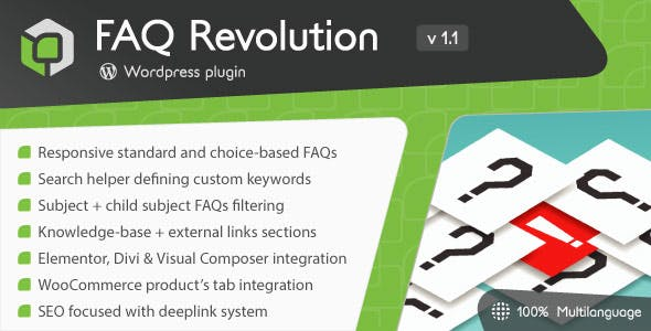 FAQ Revolution - WordPress Plugin