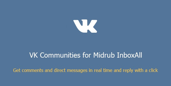 VK Communities for Midrub InboxAll - CodeCanyon Item for Sale
