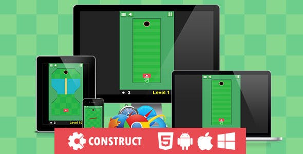 Rolling The Ball - HTML5 Mobile Game