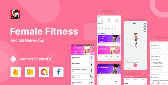 Female Fitness - Android (Kotlin)