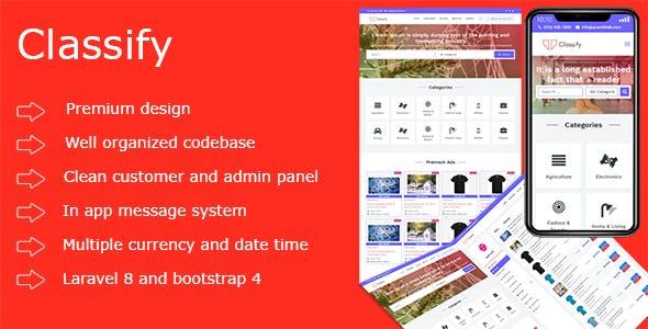 Classify PHP Ads Script