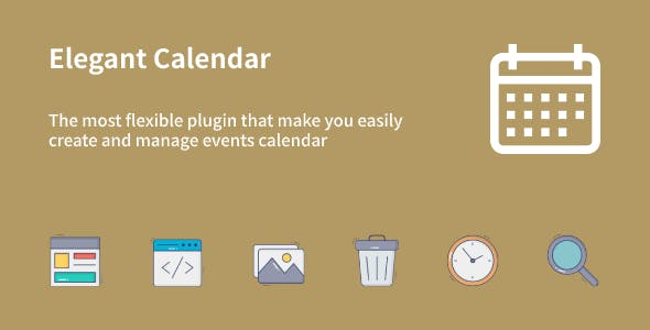 Elegant Calendar - WordPress Events Calendar Plugin