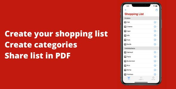 My Grocery & Shopping List