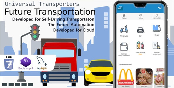 Universal Transporter Apps - CodeCanyon Item for Sale