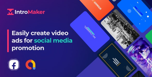 Intro Maker, Text Animation - With In-app purchase features - CodeCanyon Item for Sale