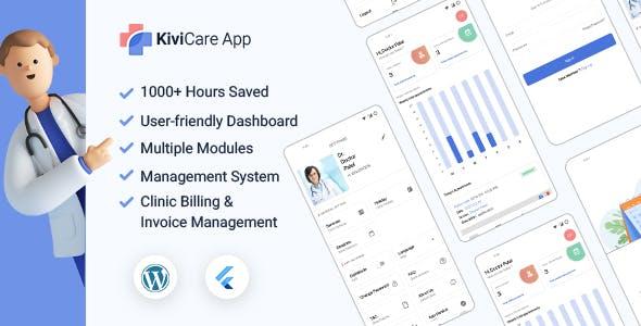 KiviCare Flutter 2.0 App – Clinic & Patient Management System
