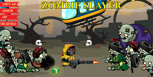 ZOMBIE SLAYER - COMPLETE GAME - CodeCanyon Item for Sale