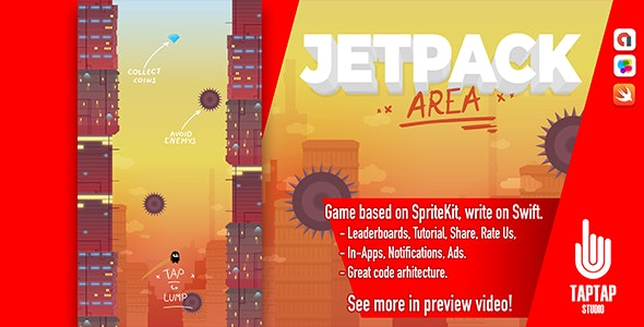 Jetpack Area - CodeCanyon Item for Sale