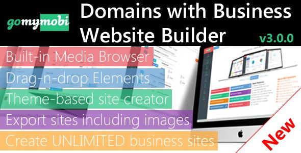gomymobiBSB: Drag-n-Drop Business Webite Builder - CodeCanyon Item for Sale