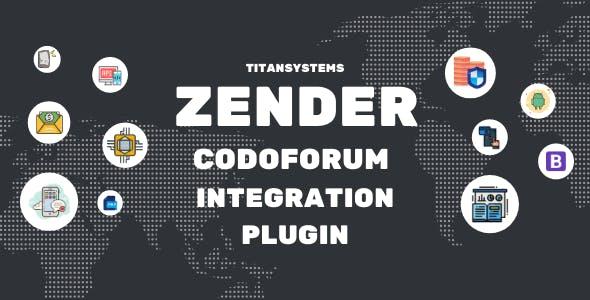 Zender - Codoforum Integration Plugin