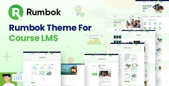 Rumbok Theme For Course LMS - CodeCanyon Item for Sale