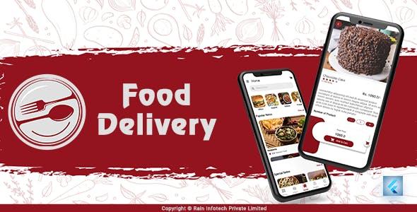 Food Delivery UI Kit - Flutter UI Kit