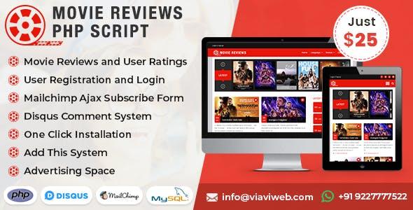 Movie Reviews PHP Script (Bollywood, Hollywood, Movie Critics, Cinema)