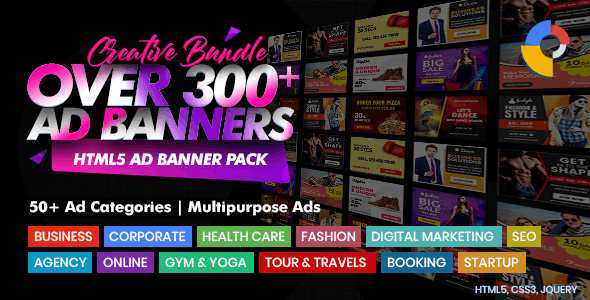 HTML5 Banner Ads - CodeCanyon Item for Sale
