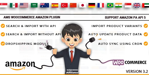 Affiliate Management System - WooCommerce Amazon