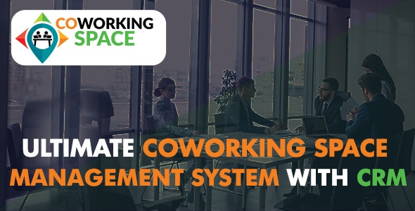 Ultimate Co-Working Space Management System with CRM - CodeCanyon Item for Sale