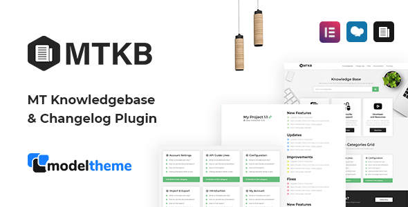 MT Knowledgebase & Changelog WordPress Plugin
