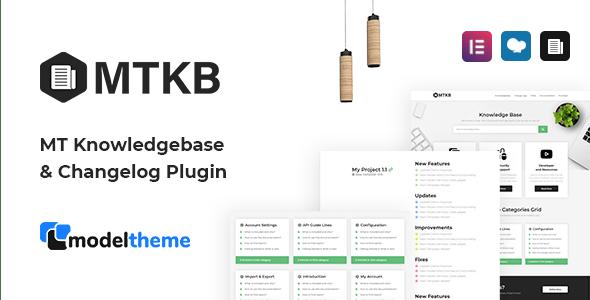 MT Knowledgebase & Changelog WordPress Plugin - CodeCanyon Item for Sale