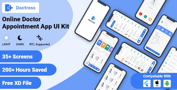 Doctor Appointment Booking App Flutter UI Kit