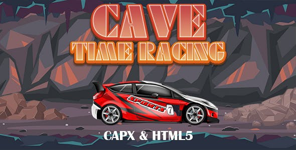 Cave Time Racing (CAPX and HTML5) Car Game