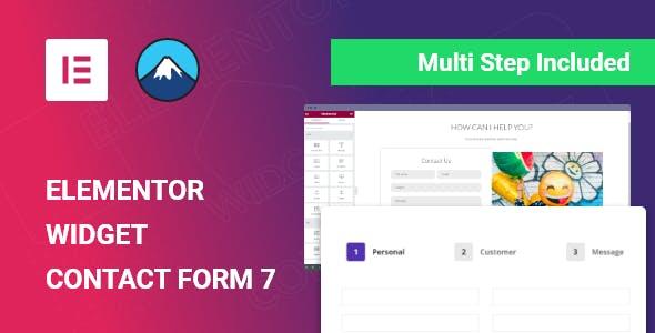 Elementor Widget for Contact Form 7