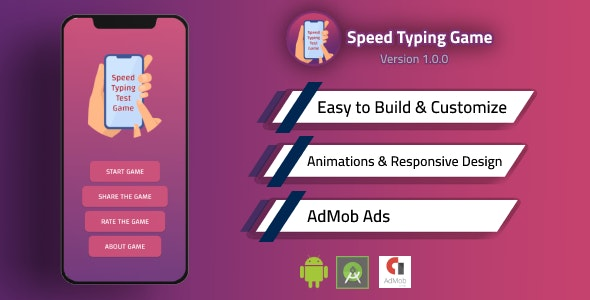 Speed Typing Test Game - CodeCanyon Item for Sale