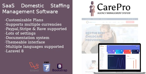 SaaS Domestic Staffing Agency Management System - CarePro