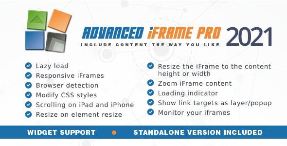Advanced iFrame Pro