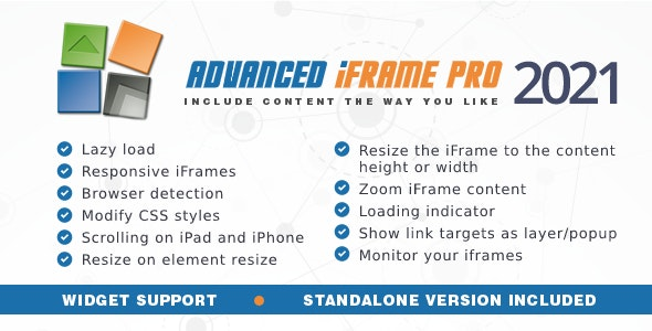 Advanced iFrame Pro - CodeCanyon Item for Sale