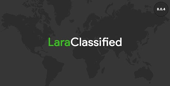 LaraClassified - Classified Ads Web Application