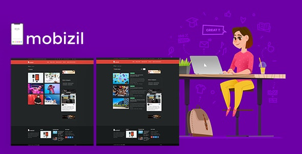 mobizil – script News and Business mobile System with Website - CodeCanyon Item for Sale