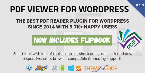 PDF viewer for WordPress