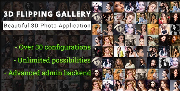 3D Flipping Grid Gallery - Advanced Media Gallery - CodeCanyon Item for Sale