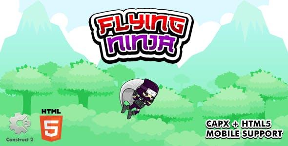 Flying Ninja - Construct 2 Game