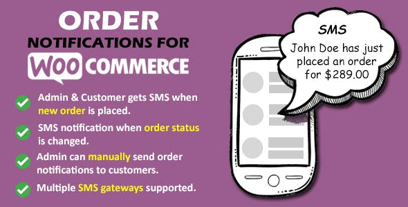 Order Notifications for WooCommerce
