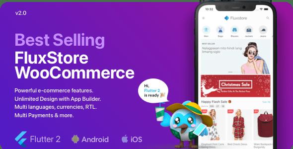 Fluxstore WooCommerce v2.0.0 – Flutter E-commerce Full App