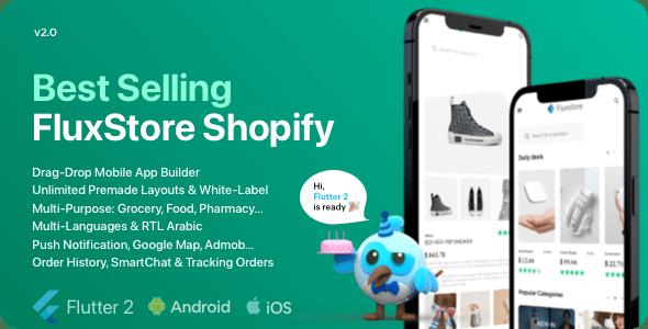 FluxStore Shopify - The Best Flutter E-commerce app
