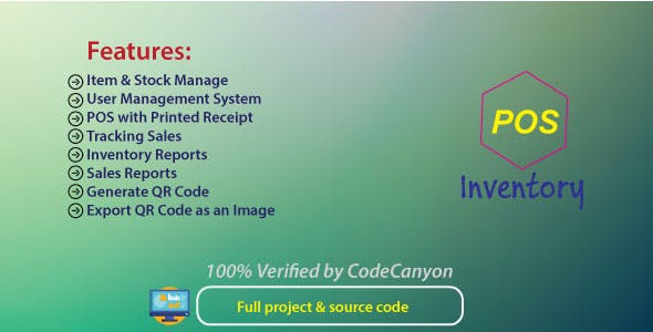 POS   Point Of Sale   Sales & Inventory management system