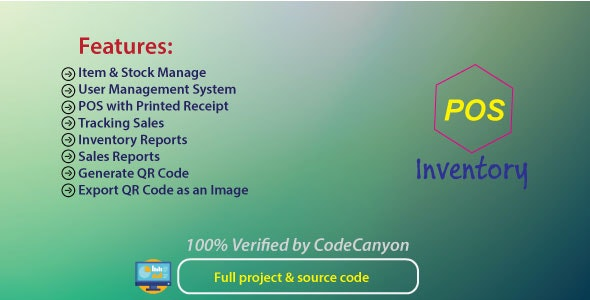 POS | Point Of Sale | Sales & Inventory management system - CodeCanyon Item for Sale