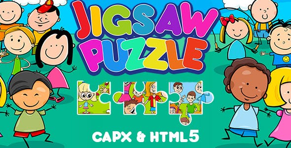 Jigsaw Puzzle Game For Kids (CAPX and HTML5)