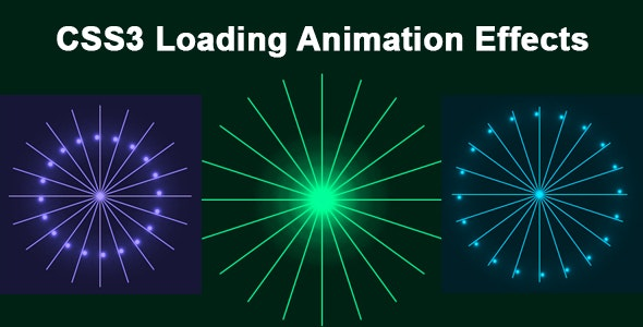 CSS3 Loading Animation Effects - CodeCanyon Item for Sale