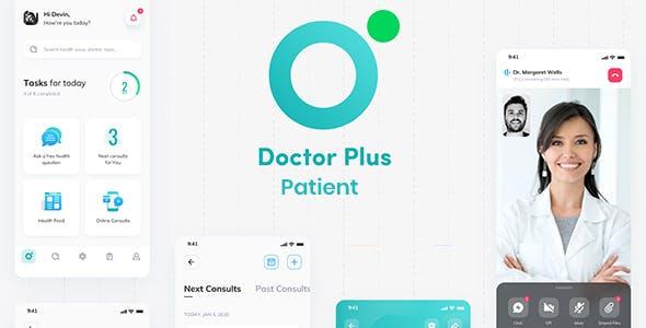 Doctor Plus - Patient React Native App Template