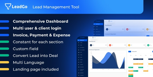 LeadGo - Lead Management Tool - CodeCanyon Item for Sale