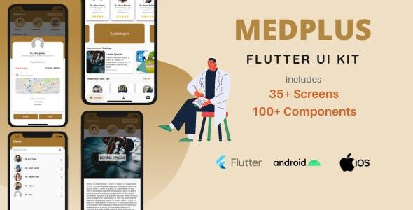 MedPlus | Flutter UI Kit for Healthcare, Doctors, Pharmacy and Diagnostics