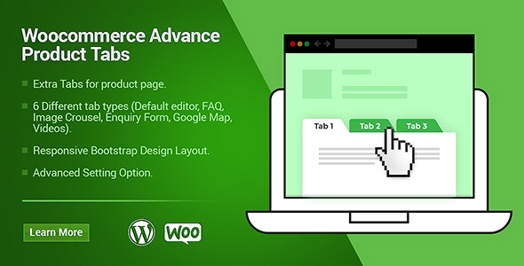 WooCommerce Custom Products Tabs - CodeCanyon Item for Sale