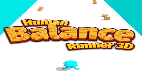 Human Balance Runner 3d