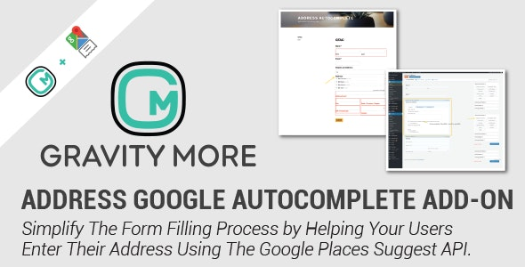 Address Google Autocomplete In Gravity Forms - CodeCanyon Item for Sale