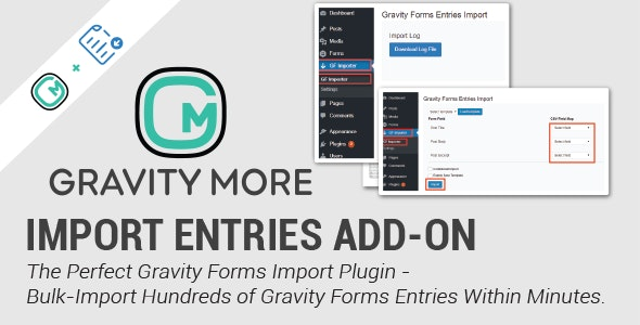 Import Entries for Gravity Forms - CodeCanyon Item for Sale